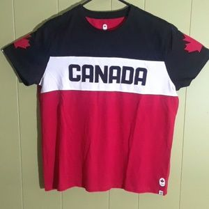 Tops - CANADA HOCKEY JERSEY OLIMPICS SOCCER WOMEN SHIRT